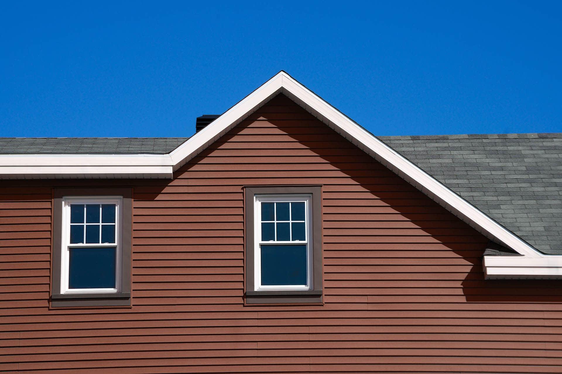 Composite Cladding on house with facade - composites alternatives