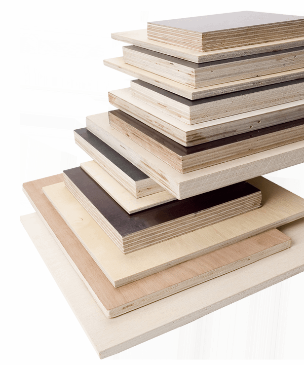 composite timber stack
