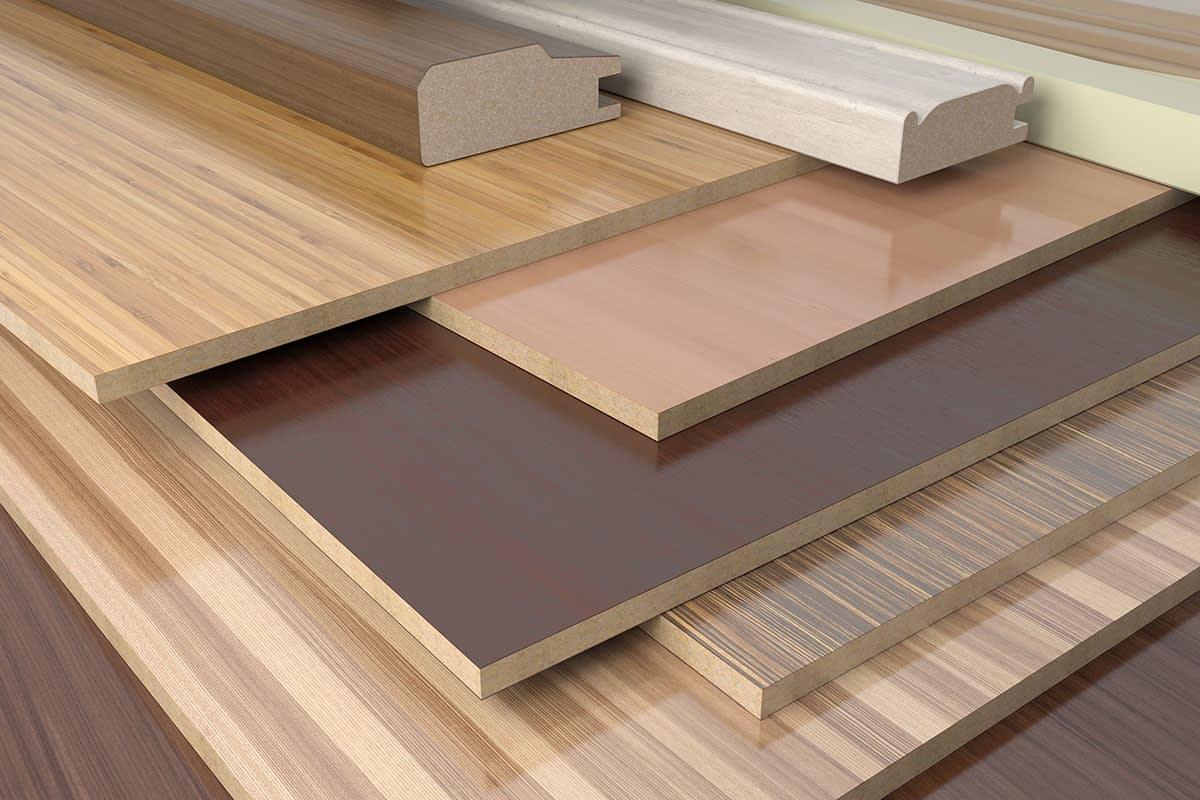 Composite wood material alternatives