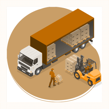 Standard delivery of Timber Supplies icon