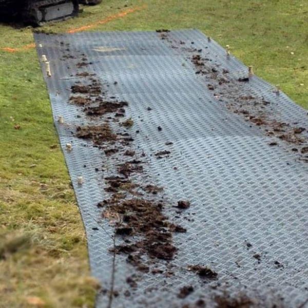 DuraMatt Lite main ground protection matting spoilboard