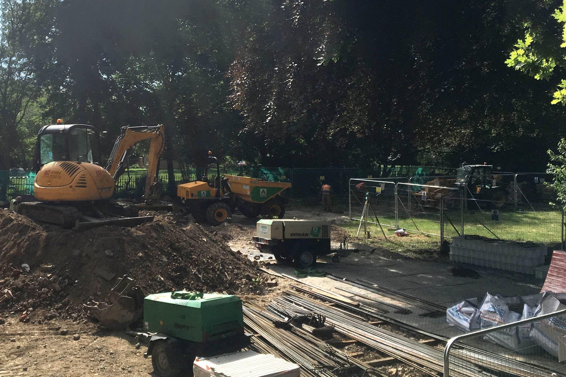 Duramatt Medium site ground protection spoilboard