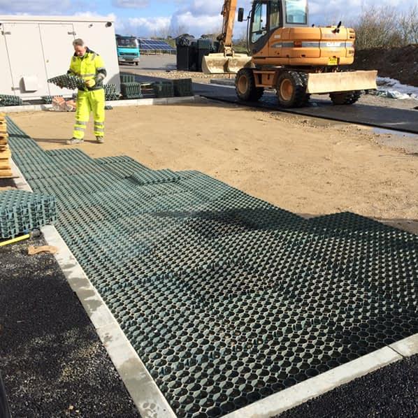 Elite Grass Grid construction