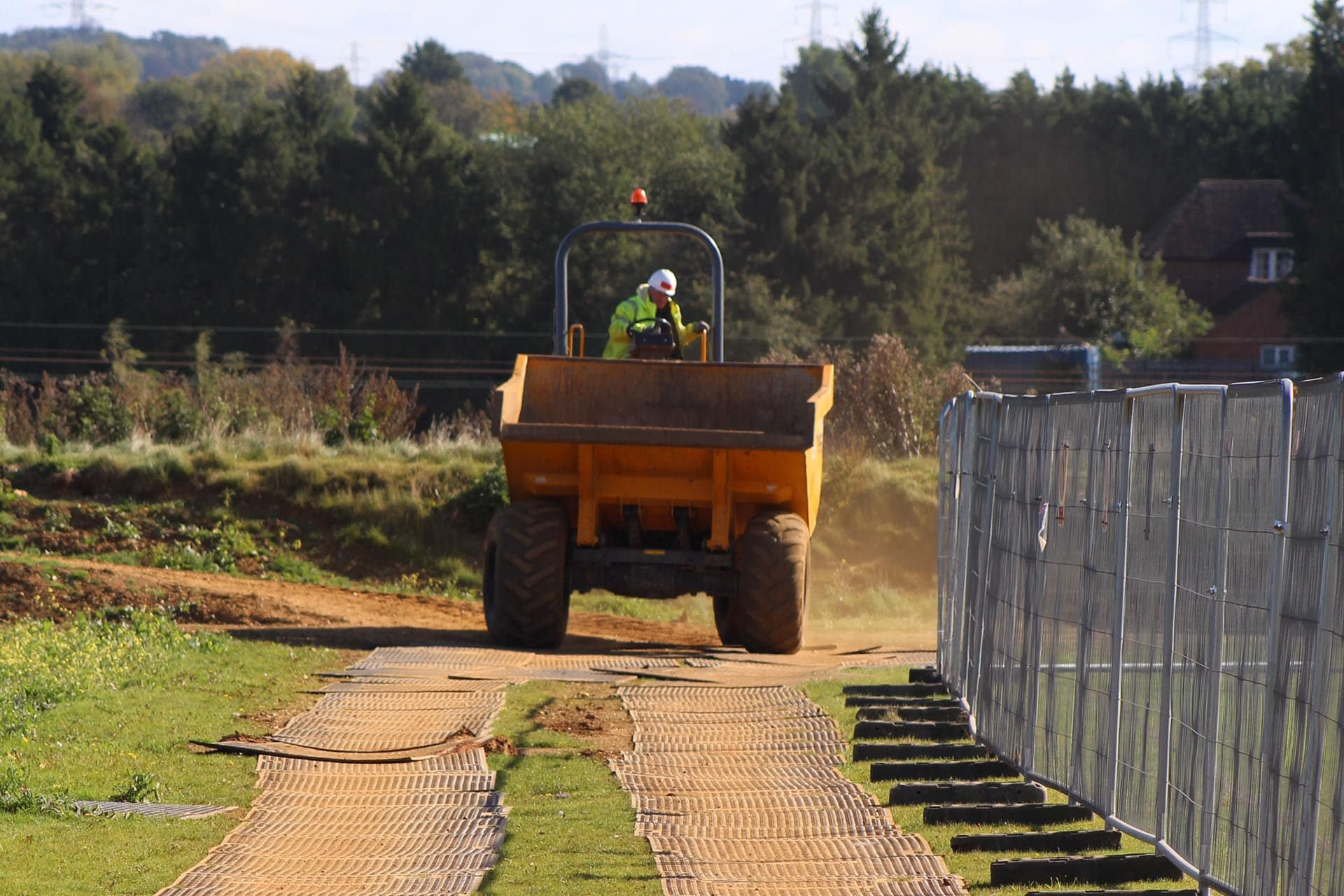 eurotrak-hd-access-mat-ground-protection-temporary-access-construction-site-fencing