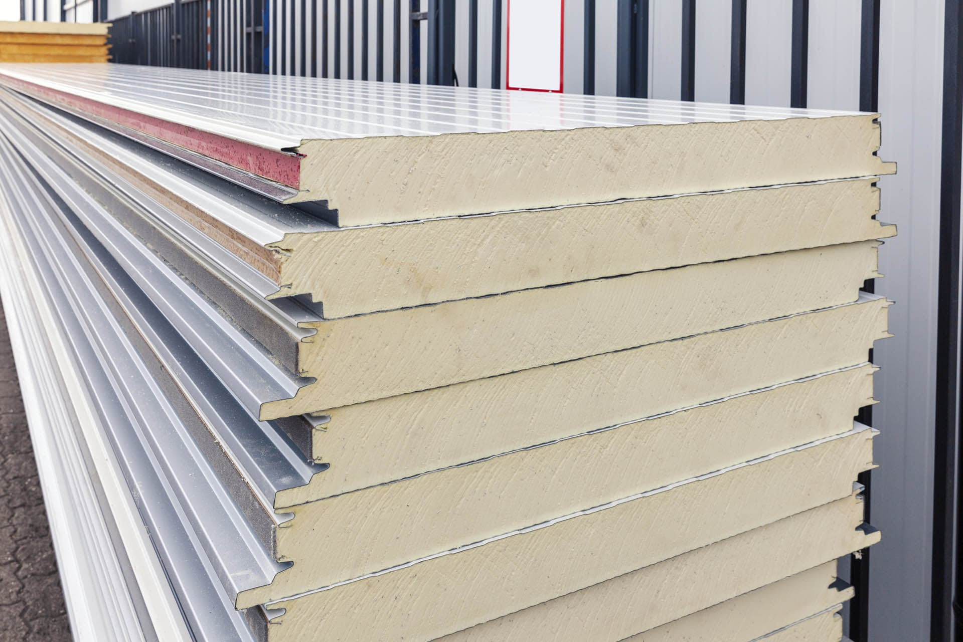 insulation-foam-board-building-materials-stacked-yard