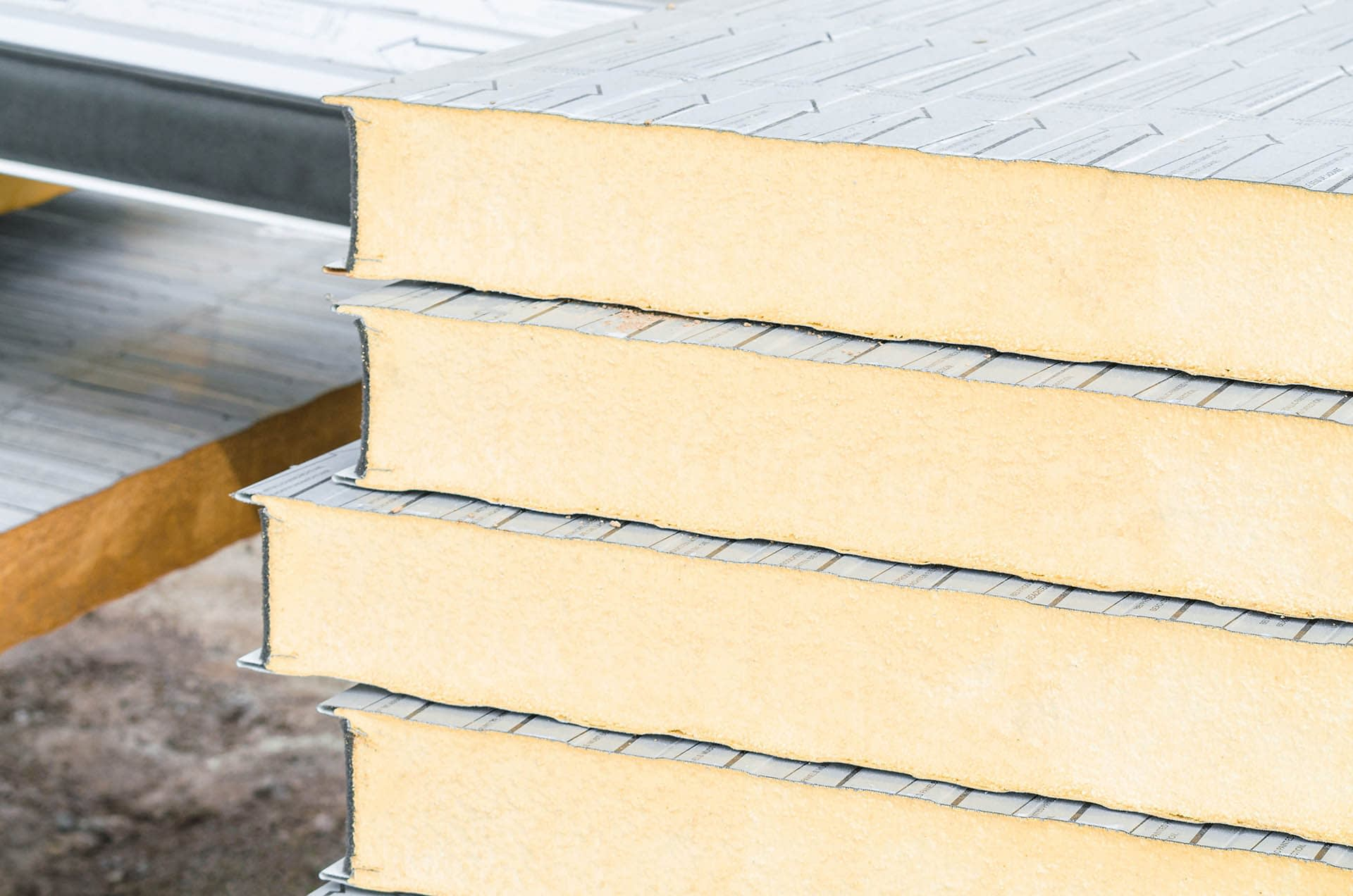 Insulation board blocks for thermal insulation - building materials