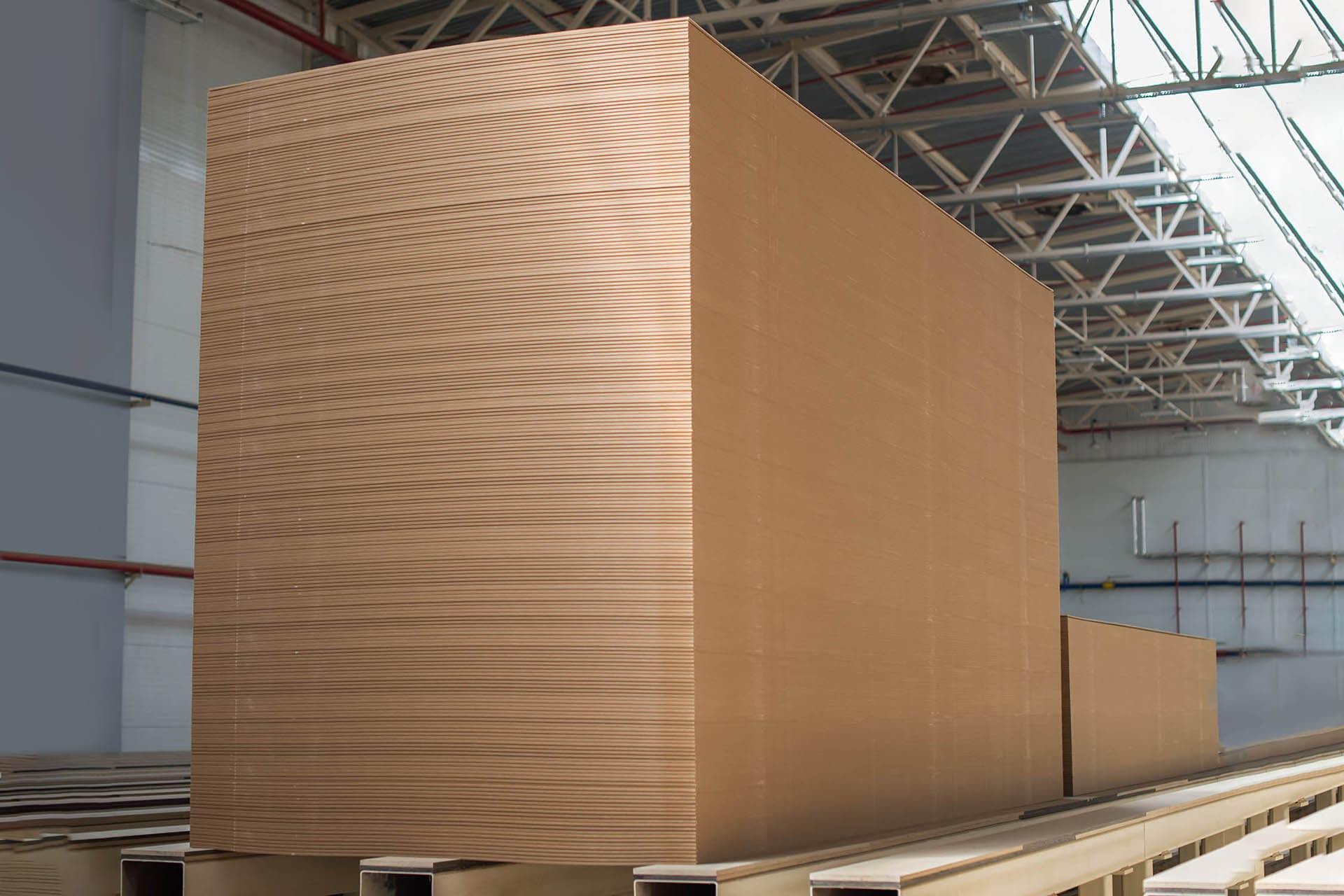 mdf board (multi-density fibreboard) internal large size sheet materials