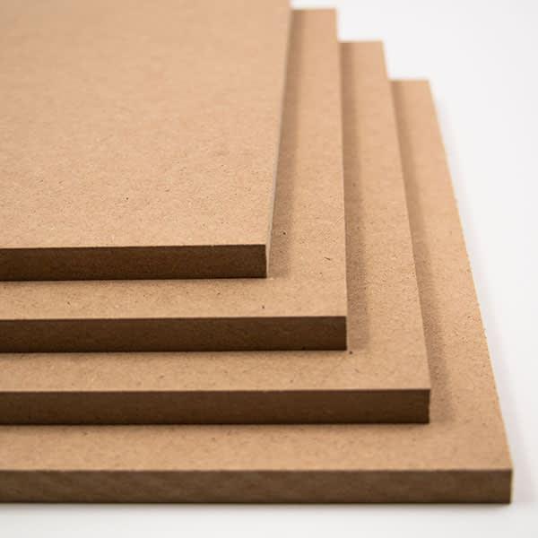 MDF board - sheet materials