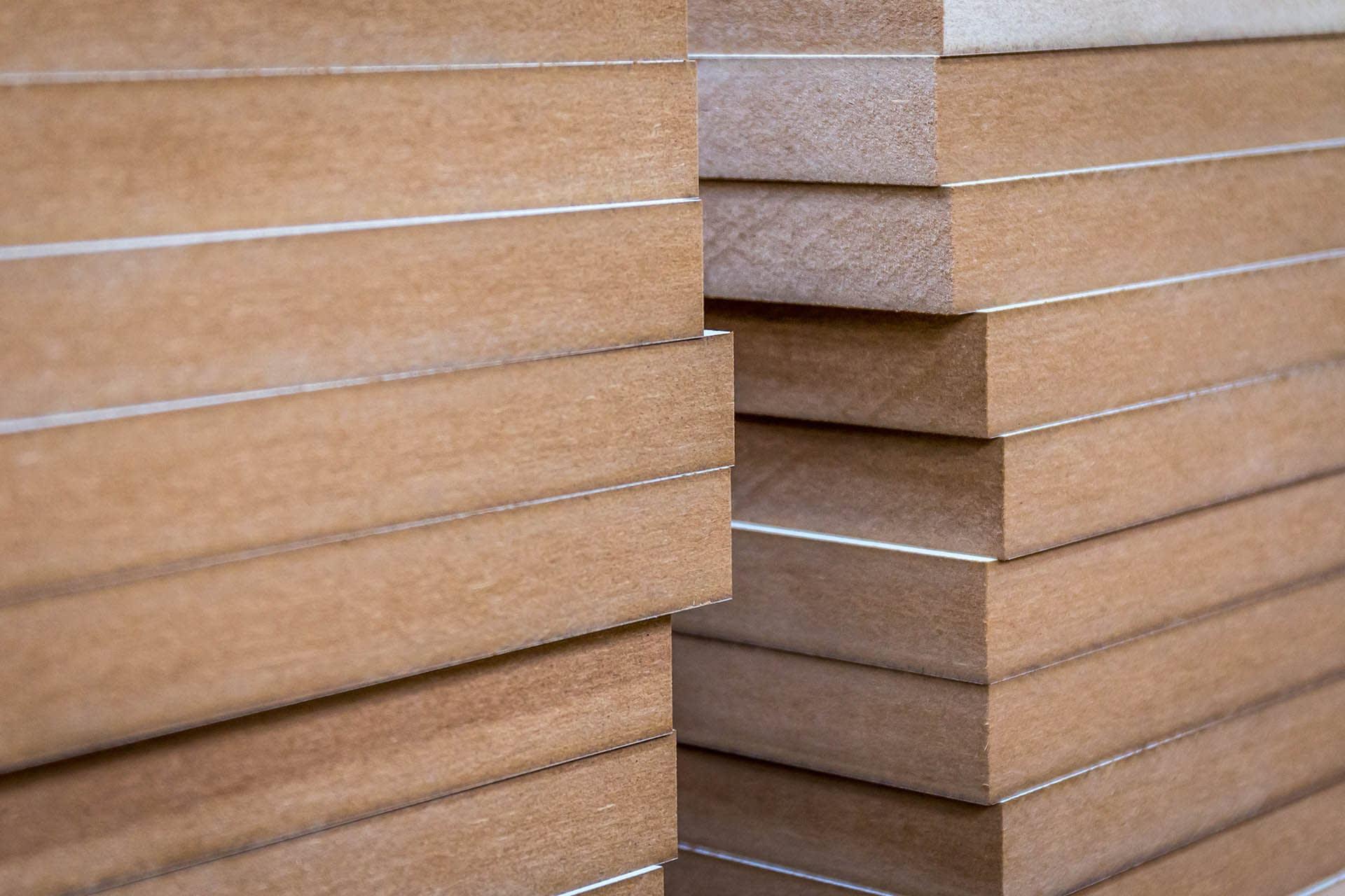 mdf boards (multi-density fibreboard) sheet materials
