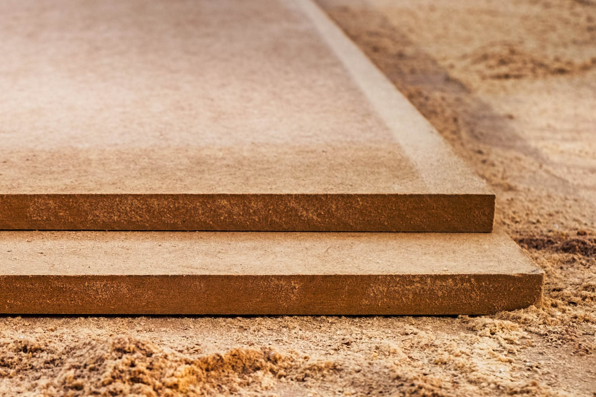 MDF Chipboard with sawdust - Sheet Materials