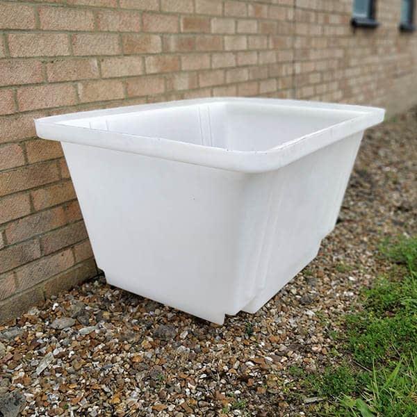 Mortar tub main building materials