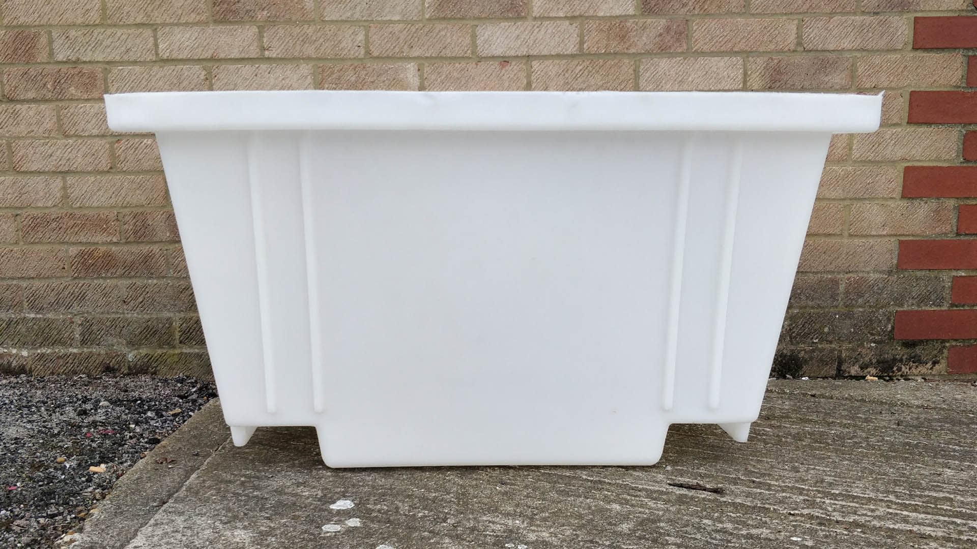 mortar tub side length building materials