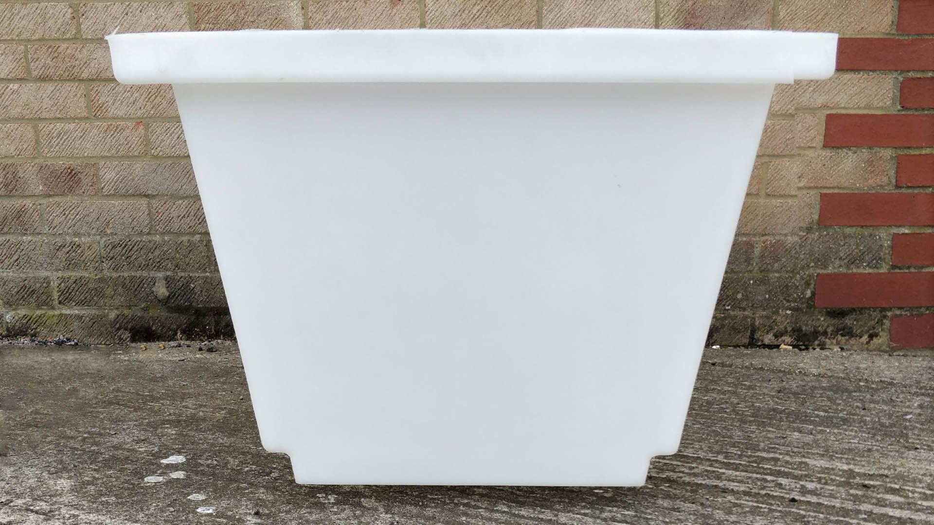 mortar tub side width building materials