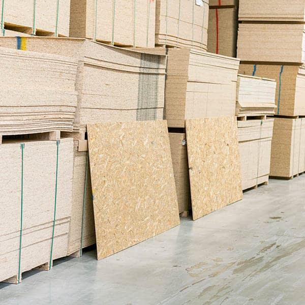 OSB-(oriental strand board) sheet materials