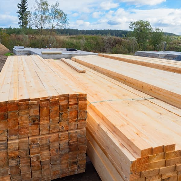 oversized and specialist timber in yard