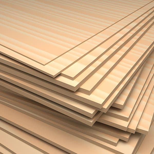 plywood boards - sheet materials